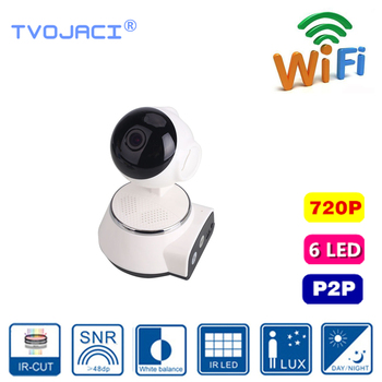 Home Security IP Camera WiFi Audio Record 720P  Indoor Network Security IP Camera Monitor HD Mini CCTV Camera  Wireless  Camera