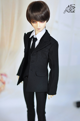 Oyuncaklar ve Hobi Ürünleri'ten Bebek Aksesuarları'de 1/4 1/3 70 cm SD13 SD17 erkek adam aod köpek msd sd bjd doll pantolon elbise takım elbise takım elbise rüzgar ceketi M375'da  Grup 1