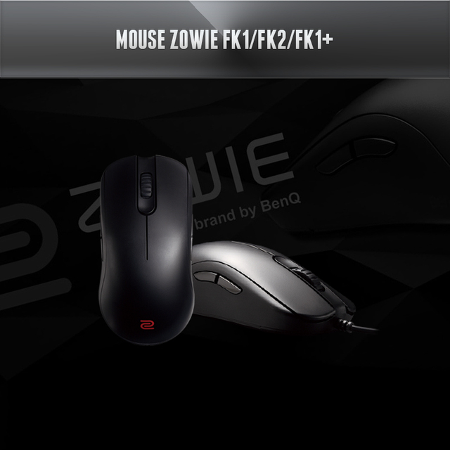 5bbd4863f41 BenQ ZOWIE FK/FK1/FK1+ Gaming Mouse for e-Sports, Brand New In Retail BOX,  Fast & Free Shipping.