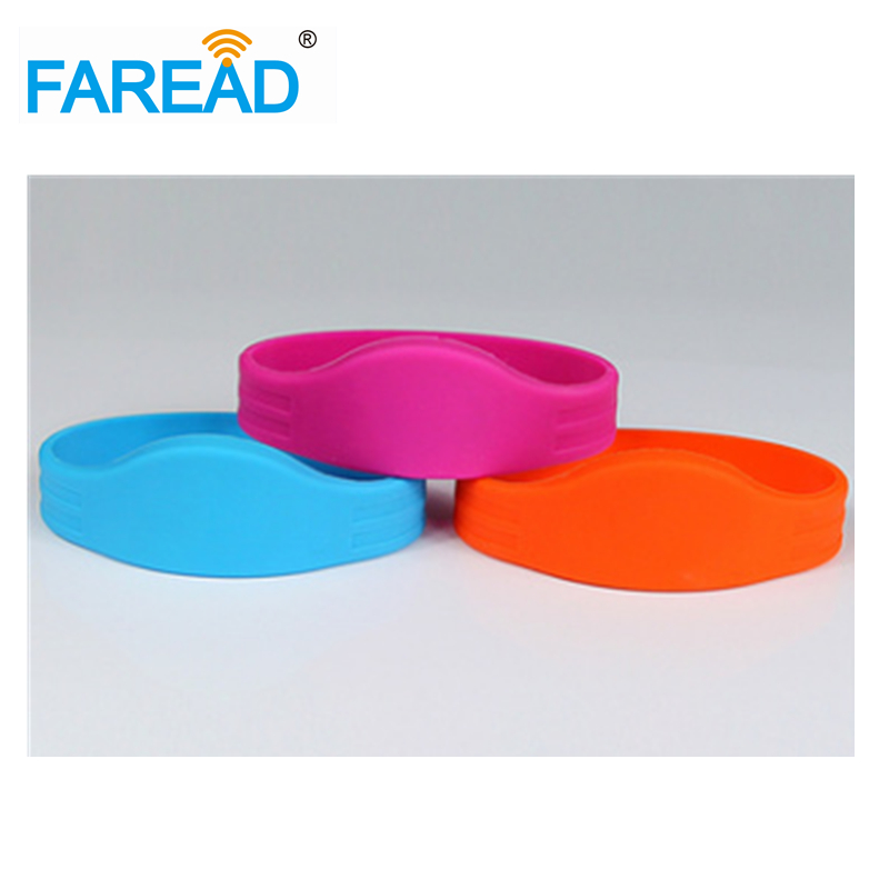 Free Shipping RFID Wristband  125khz T5577  For Ticket System And Harsh Environment  100pcs/lot