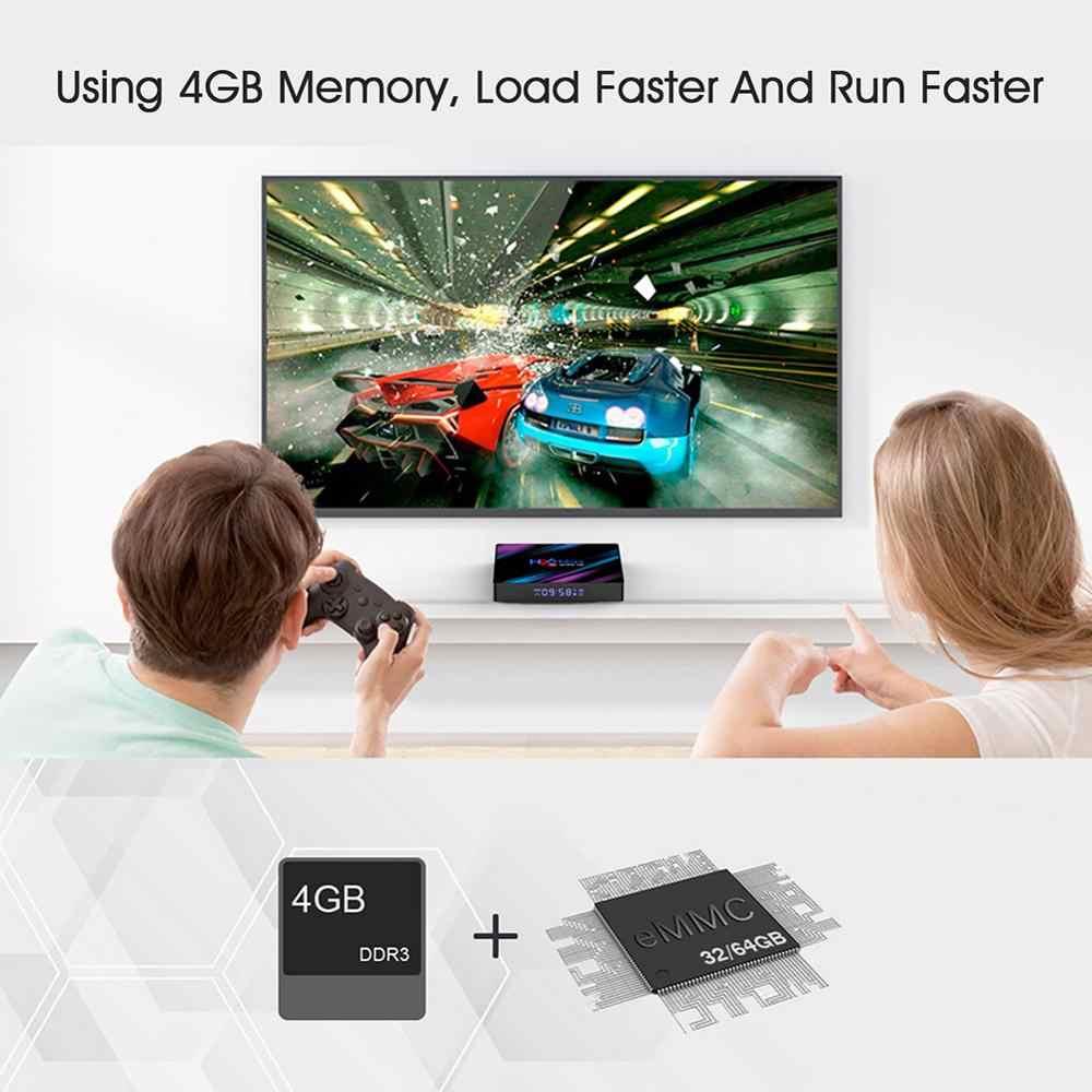 LEMADO H96MAX Android 9,0 ТВ-бокс на Rockchip RK3318 4 Гб ОЗУ 64 Гб ПЗУ H.265 4K 60fps проигрыватель Google Store Netflix Youtube телеприставка