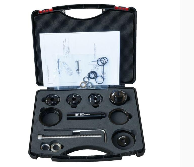 BB Installer et Supprimer outil ensemble bb86 bb90 bb91 bb92 bb30 bb30a|Outils de réparation de vélo|   -