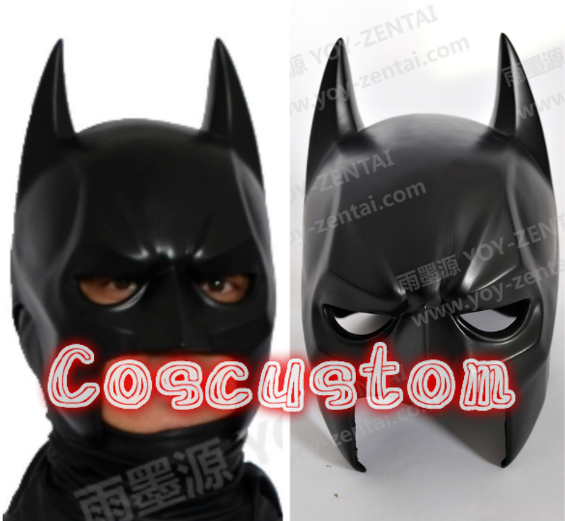 Coscustom High Quality Wearable 1:1 Batman Mask Helmet Movie Batman Cosplay Mask Cosplay Props