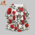 Monkids Long Sleeve Flower Toddler Girls Dresses for Party And Wedding Children's Costumes Girls Clothes Clothing Clothes