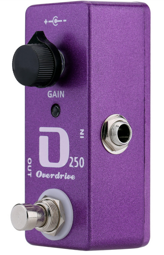 SOACH D250 Overdrive Effect Guitar Pedal Two Internal Trim Tone and Vol Knobs With True Bypass GFuitar aroma adr 3 dumbler amp simulator guitar effect pedal mini single pedals with true bypass aluminium alloy guitar accessories