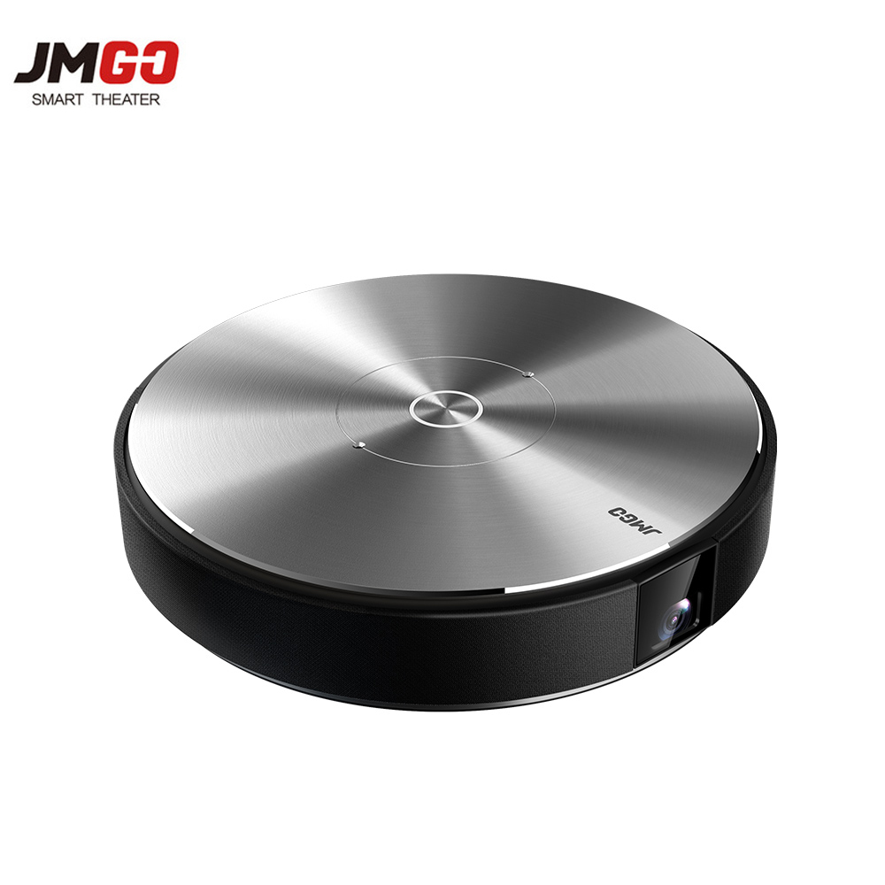 JmGO N7L Mini Projector Full Led 1980x1080 Home Theater 3D 1080P 300 inch Bluetooth android Projetor WIFI DLP Proyector Beamer everyone gain a18 projetor celular full hd 3d mini video proyector android projector dlp pico battery projecteur game portatil