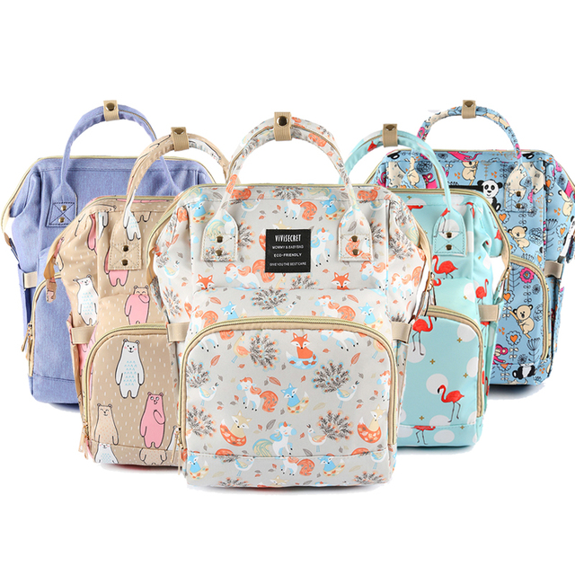 Diaper Maternity Bag Large Capacity Travel Backpack