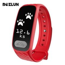 Bozlun ECG Heart Rate Monitor Smart Wristband Fashion Pedometer Sport Digital Watch Men Women Blood Pressure Smart Bracelet