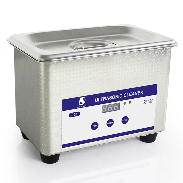Digital Ultrasonic Cleaning  Baskets Jewelry Watches Dental PCB CD 0.8L 35W 40kHz Ultrasound Mini Ultrasonic Cleaner Bath