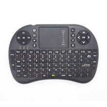 Binmer 2,4 ГГц Беспроводная клавиатура Air Mouse Touchpad DPI регулируемые функции русская клавиатура версия для Android TV черный