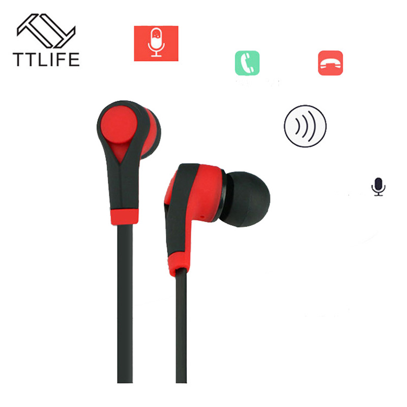 TTLIFE New Bluetooth Earphone Sports Wireless Headset Sweatproof Auriculares with Mic for iPhone Xiaomi Android Smartphone 7.0 ttlife new mini stereo car kit bluetooth headset wireless earphone handsfree auriculares with mic with charging dock for iphone