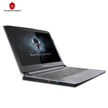 Оригинал ThundeRobot ST-PLUS Игровый Ноутбук Портативный Компьютер15.6 дюймов IPS 1920*1080 GTX1050 7700HQ Intel Core i7 CPU 8ГБ ПЗУ 256 ГБ SSD Диск  RGB клавиатура с подсветкой