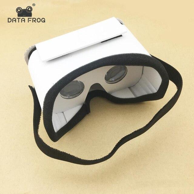Свет замок Google Cardboard Стиль виртуальной реальности VR BOX II Стекло es для 3,5-6,0 дюймов смартфон Стекло для iphone для samsung
