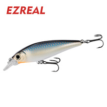 Ezreal DR70 floating minnow Fishing Lures 6# VMC Hooks 70mm 1PC 9g Wobbler Artificial Hard Bait swimbait