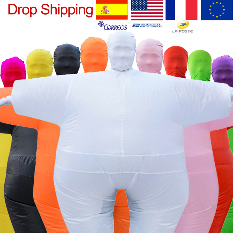 Adult Anime Cosplay Chub Inflatable Costume Blow Up Color Full Body Paty Costume Jumpsuit 9 Colors Halloween Cosplay Costumes in Anime Costumes from Novelty Special Use