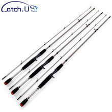 3 3 20g 6 15LB M Action Spinning Fishing Rod EVA Handle Silver Carbon Travel Casting