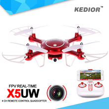 Syma X5UW RC Wifi Drone FPV Quadcopter RTF With Camera HD 2.4G 4CH Professional Drones APP Control Rc Helicopter For Adults