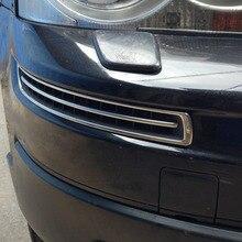 Накладка на передний бампер из нержавеющей стали для Volvo XC90 2008 2009 2010 2011 год