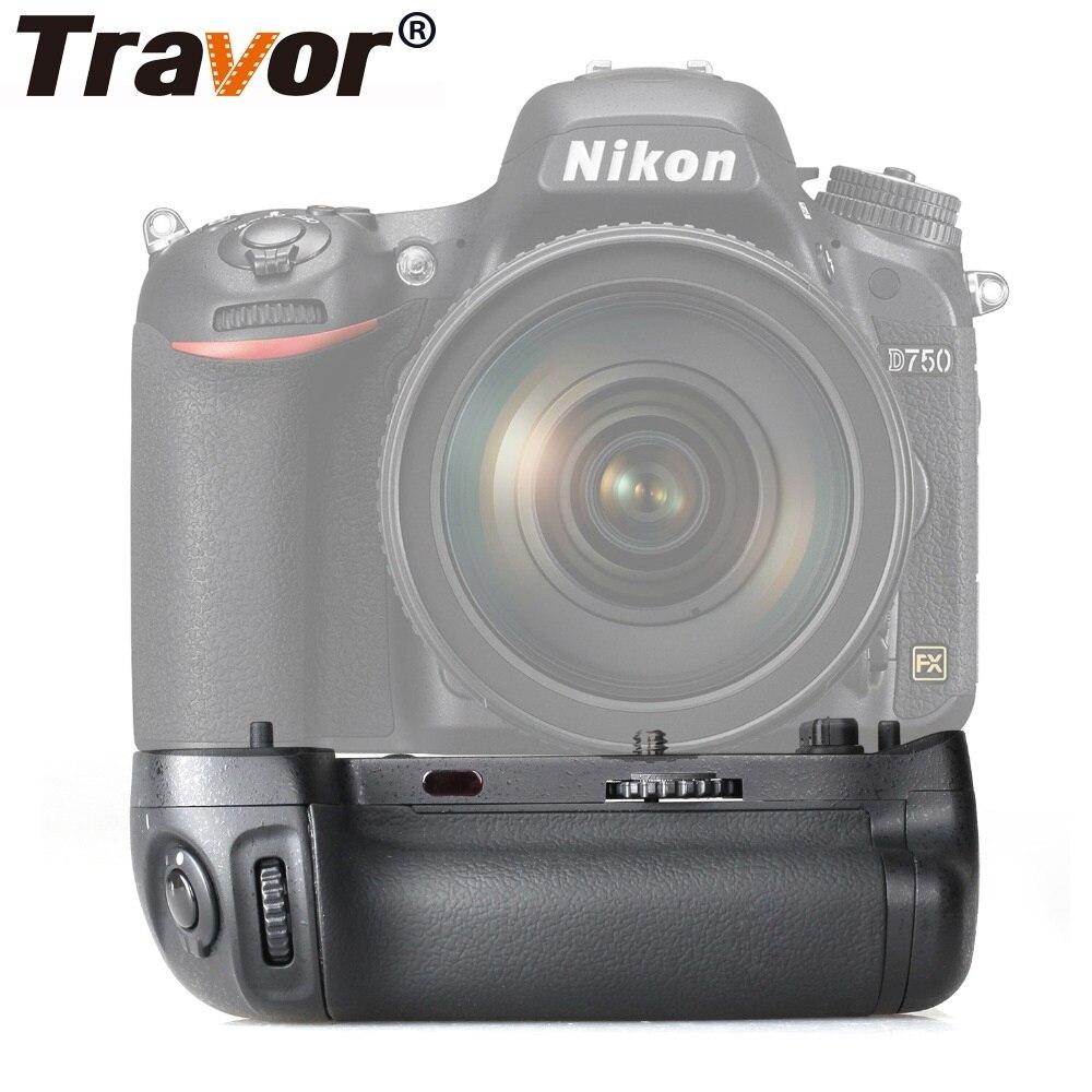 Travor Vertical Camera Battery Grip Holder For NIKON DSLR D750 DSLR Battery Handle Work With EN