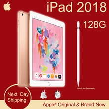 Nieuwe Apple iPad 2018 (6th Generatie) 128G 9.7 Retina Display A10 Fusion Chip Facetime 8MP Achteruitrijcamera 0.46 kg Super Draagbare(China)