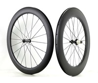 Freeshipping Front 50mm Rear 88mm Depth Road Bike Full Carbon Wheels 25mm Width Clincher Road