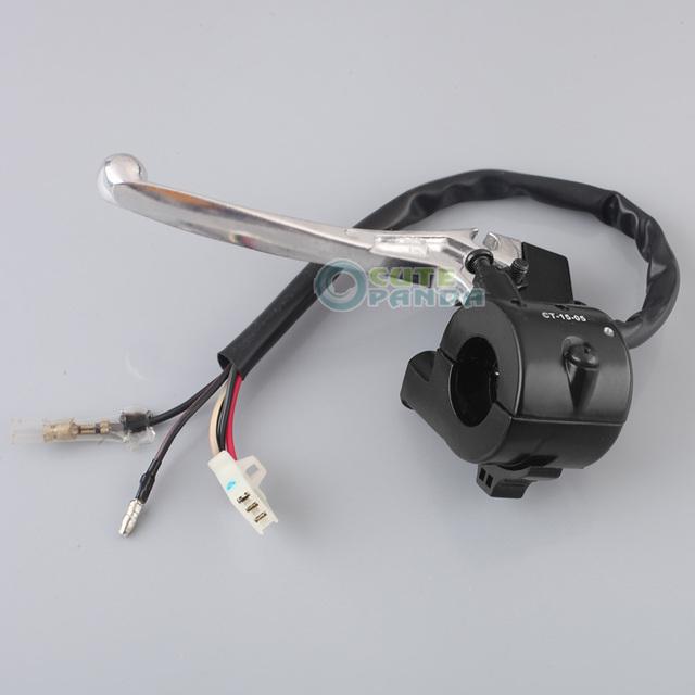 Kill Switch Alavanca do acelerador Habitação Assembléia Fit For Yamaha PW 50 PW50 PY50 Novo