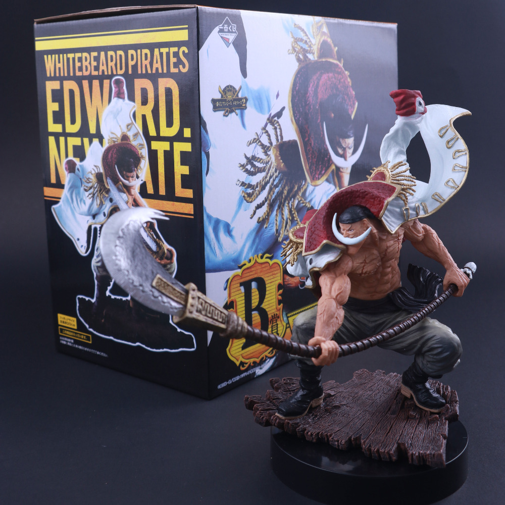 IChiban Kuji Scultures le TAG Team Barbe Blanche Pirates ONE PIECE Edward Newgate Action Figure Poupée Collection Statue Œuvres D'art