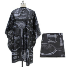 Salon Equipment Adult Salon Barbers Hairdressing Hairdresser Hair Cutting Cape Gown Clothes MH88 unisex adult black blue hairdressing cape hair cutting cape gown haircut clothes with play phone view window salon apron