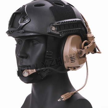 RAC Tactical headset Functional RAC Noise Reduction Headset For ARC Rail Helmet Hunting Accessories