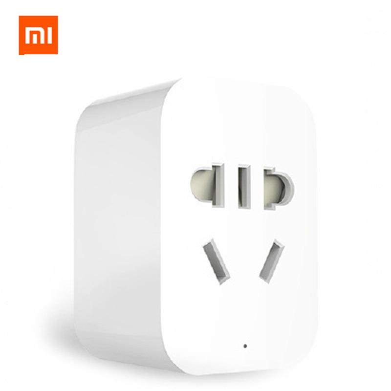 Original Xiaomi Mi Smart WiFi Socket Zigbee Version APP Remote Control  Timer Power Plug Power Detection Plug Work with Gateway