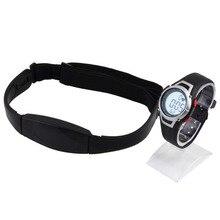 1 шт. Новый сердечного ритма мониторы Спорт Фитнес часы пользу Открытый Велоспорт водонепроницаемый беспроводной с нагрудный ремень