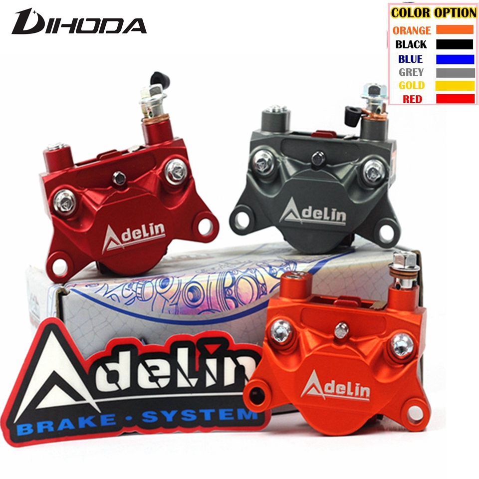 Adelin CNC ADL 10 motorcycle 32mm x 2 piston Rear brake calipers pump 84mm mounting for