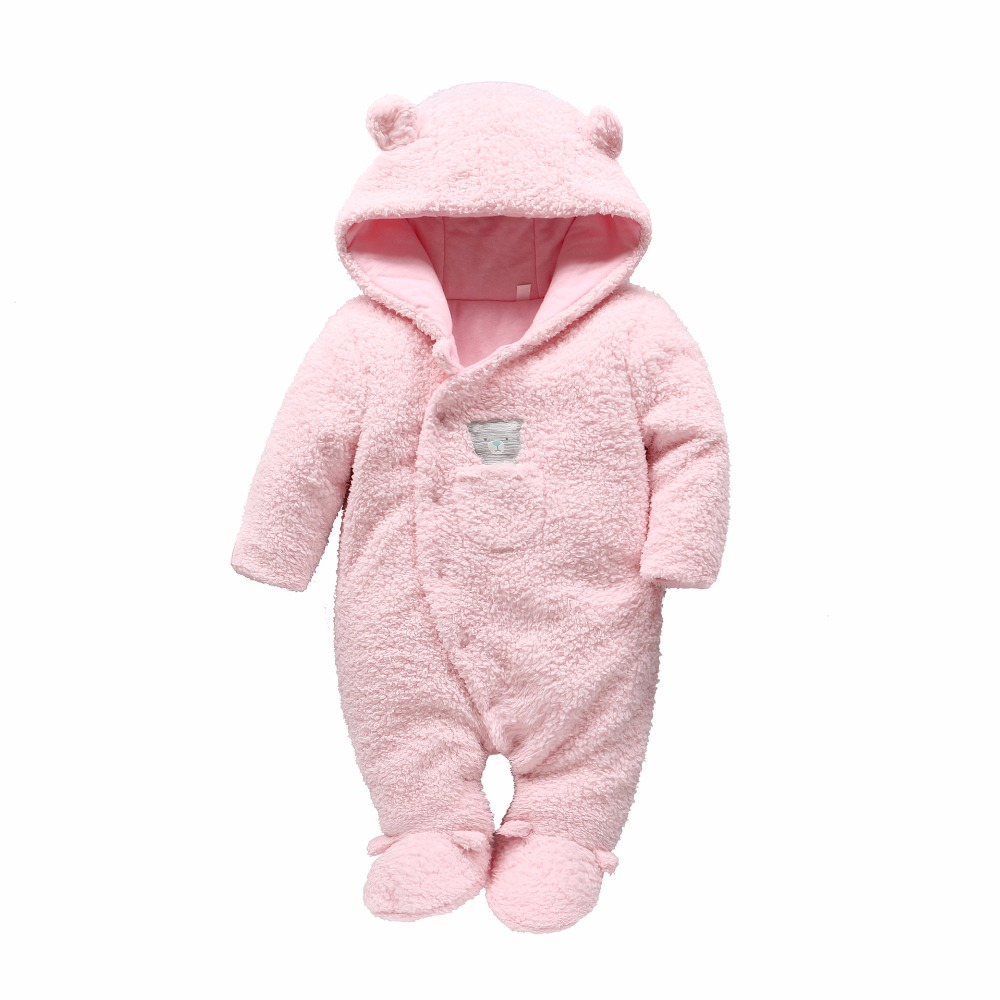 salesalePicturesque Childhood winter baby clothing Newborn funny clothes baby animal overalls Bear style cute clothes hot sale cute bear head style baby dinner plate tray pink