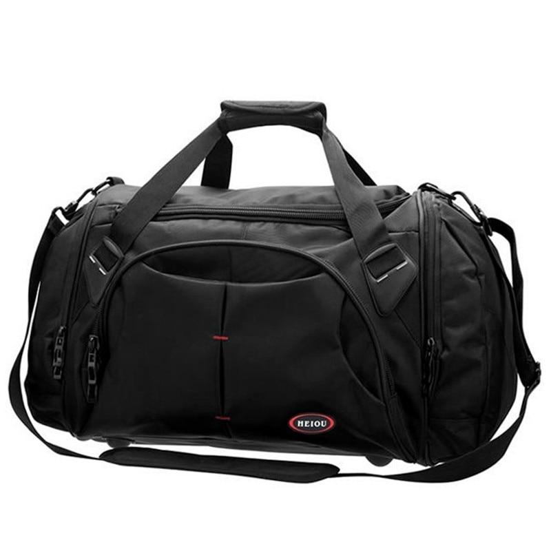 Waterproof Duffle Bags >> New 2016 Fashion Waterproof Nylon Men Travel Bags Large Luggage Bag Men Duffel Bag for travel ...
