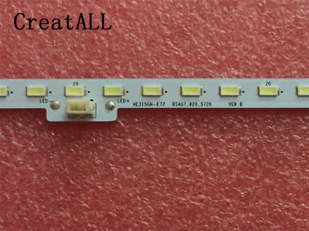 Computer Cables & Connectors 457mm Led Backlight Lamp Strip 66leds For Lcd-40lx260a 2011ssp40-5630-r66-nns-rev0 40 Inch Tv Lcd Monitor High Light