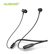 AUSDOM S5 Sport Wireless Bluetooth Earphone Headset High Quality Bluetooth Earbuds With Mic Magnetic Neckband for iPhone Xiaomi(China)