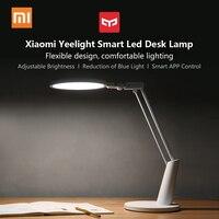 Xiaomi Yeelight светодио дный настольная лампа 14 Вт светодио дный защита глаз настольная лампа умное затемнение Чтение свет настольные лампы