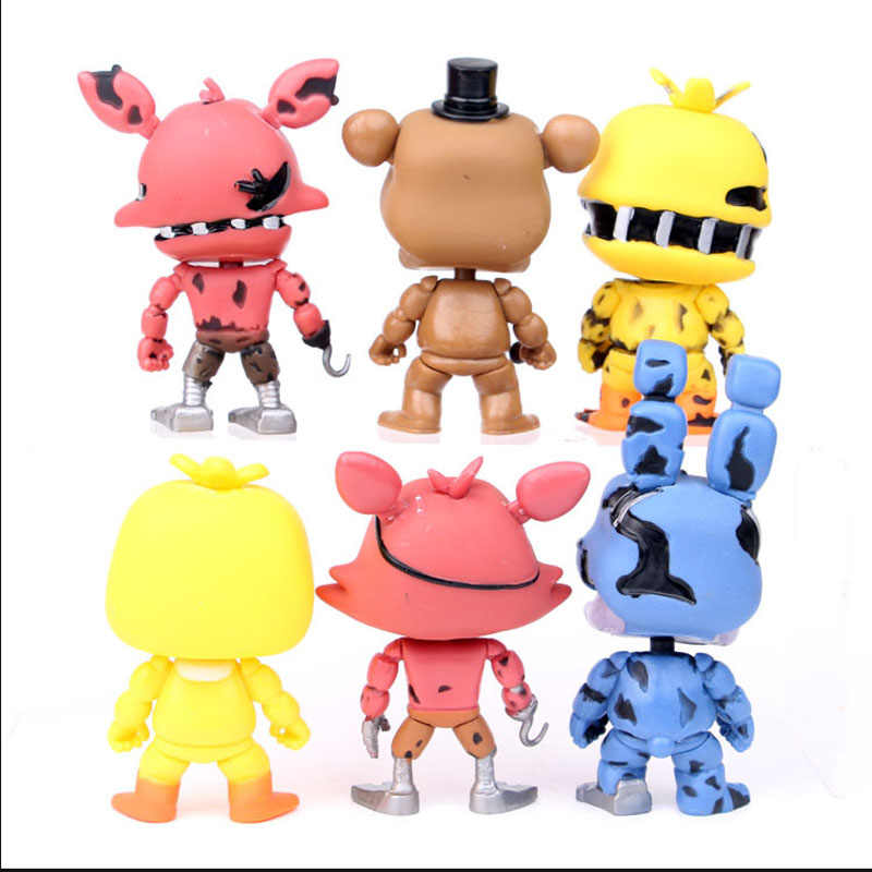 Five Nights At Freddy S Toys Action Figure Sister Location Horror Game Funtime Freddy Ballora Circus Baby S Pizza World Figurine