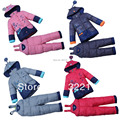 Winter Coat for Baby boys Down Jacket Girls Padded Parkas Kids Warm clothing set Children Snow Outerwear Overcoat