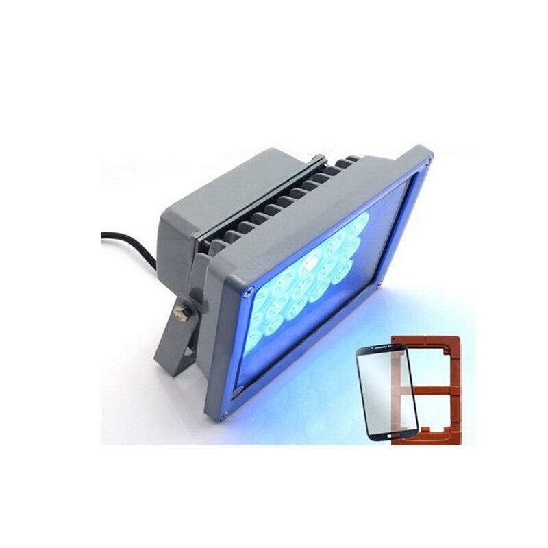 20 LEDS 20W Fast Curing UV Glue Light Lamp For LOCA Glue And LCD Refurbish 220v/110v колготки женские knittex loca 20 цвет черный loca размер 4