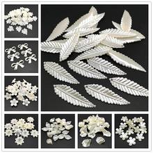 20pcs Jewelry Accessories Acrylic Beads Ivory Pearl Beads Loose Hole Beads Jewelry Accessories Beads Jewelry Making DIY cheap LXGSMBENTENG XZ-39-46 9-46g Fashion 8 styles See Picture 20 pieces