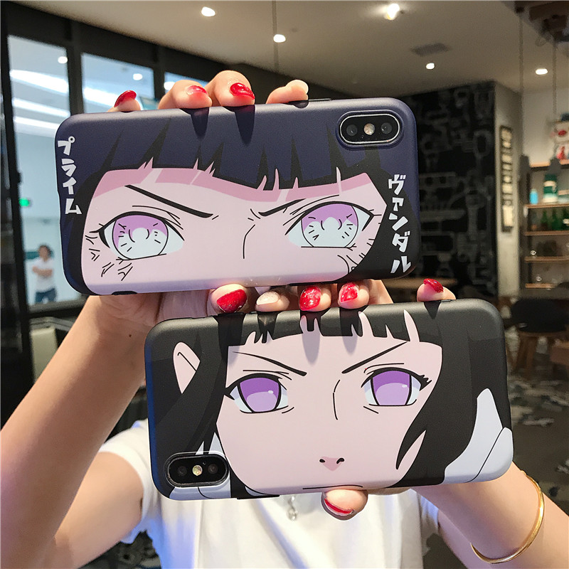 Hinata Byakugan Case for iphone 11 pro 6 6s 7 8 plus X XR XS Max phone cases Newest Japan Anime Naruto soft TPU back cover Coque(China)