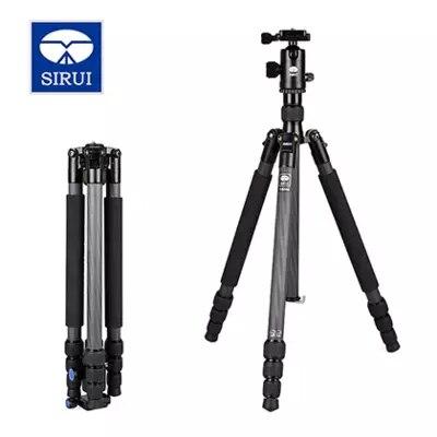 Sirui камера штатив Комплект Professional Carbon камера Стенд штатив путешествия для цифровой камеры аксессуары для фотостудии T024X + C10X