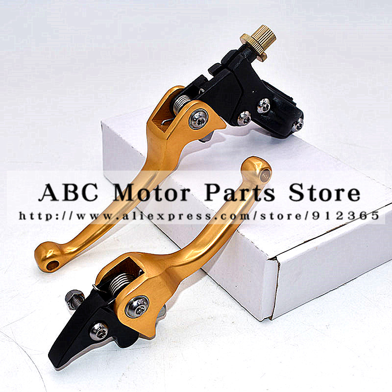 Folding Clutch Brake Lever Aluminum Alloy Fit To ASV F3 Series 1ST Universal Dirt Bike Pit bike Motorcycle KXF CRF YFZ KLX