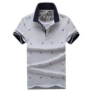 Dimusi الصيف الرجال بولو قميص الذكور عارضة قصيرة الأكمام 95% ٪ قمصان رجالي بولو تيز بارا هومبر ماركة الملابس 4xl ، TA068