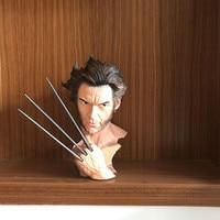 Sculpture Bust The Avengers Wolverine X Men Logan SUPER HERO Universe RESIN Action Figure Collection Model Toy M109