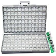 SMD 0201 RoHS 1% 144 значение шт. x 100 шт. Резистор Комплект распределенный коробка-все Организатор R02E24100 ассорти