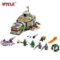 MTELE Ninja Serie Denizaltı Takip Set Rakamlar Yapı Taşları Eğitici Oyuncak 10265 Lego Ile Uyumlu