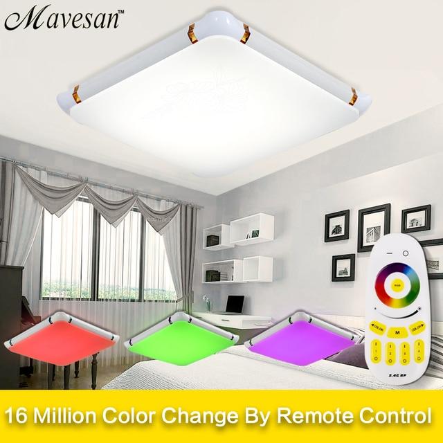 Heisser Verkauf Deckenleuchten Fernbedienung RGB Controler Und Dimmer 36 Watt LED Leuchte Lampe Fr Wohnzimmer Moderne