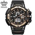 Gold Big Dial Sport Watch Men S Shock Waterproof Dual Time Wristwatch LED Clock Digita relogios masculino montre homme WS1376